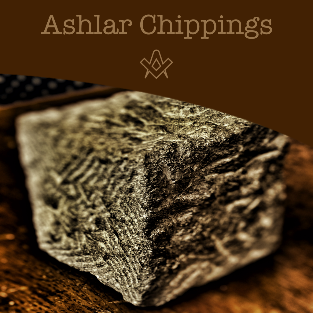 Ashlar Chippings That 'H' word, lesser lights and more..