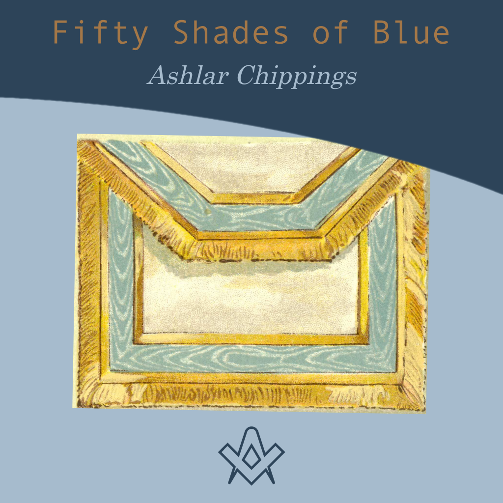 Fifty Shades of Blue Ashlar Chippings