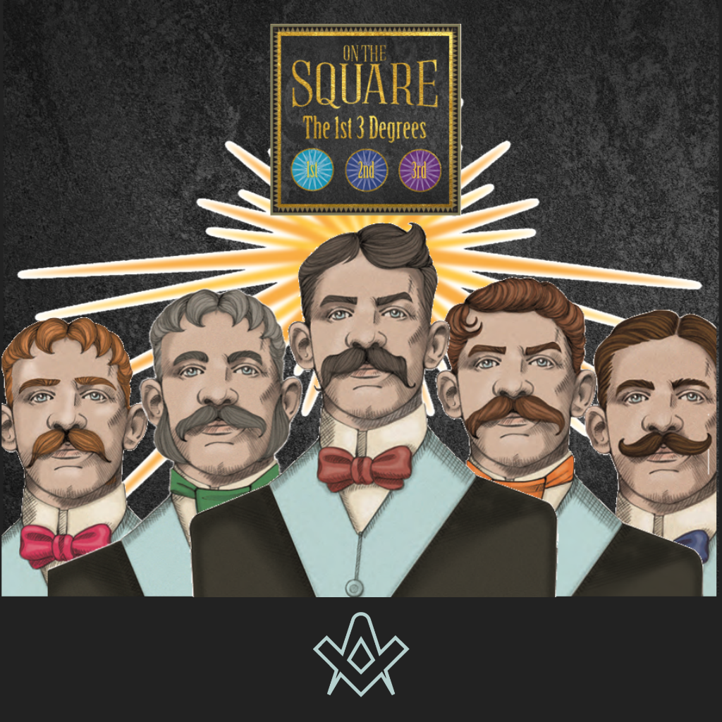 On The Square A new board game based on the Freemasons