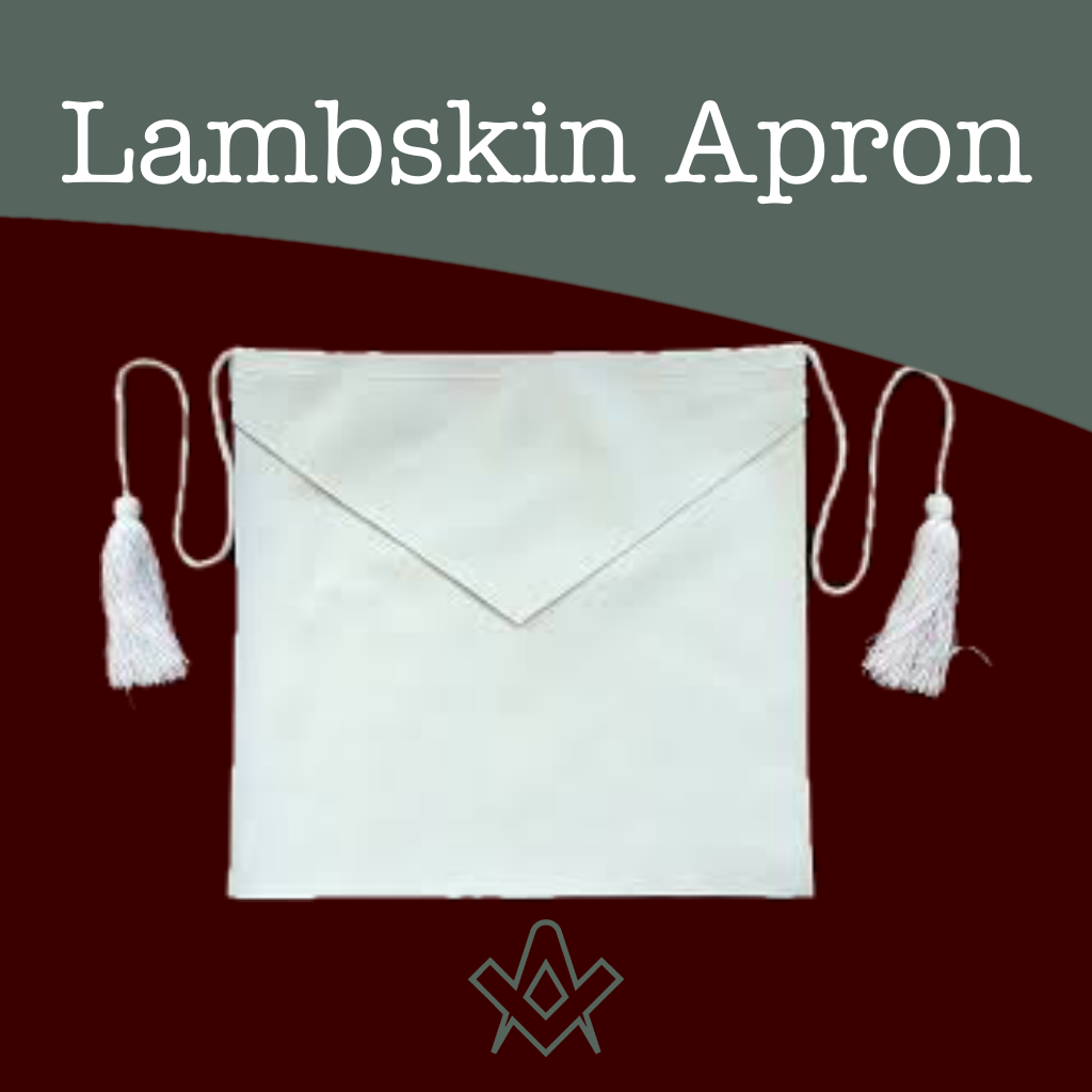 Lambskin Apron Entered Apprentice Lambskin Apron