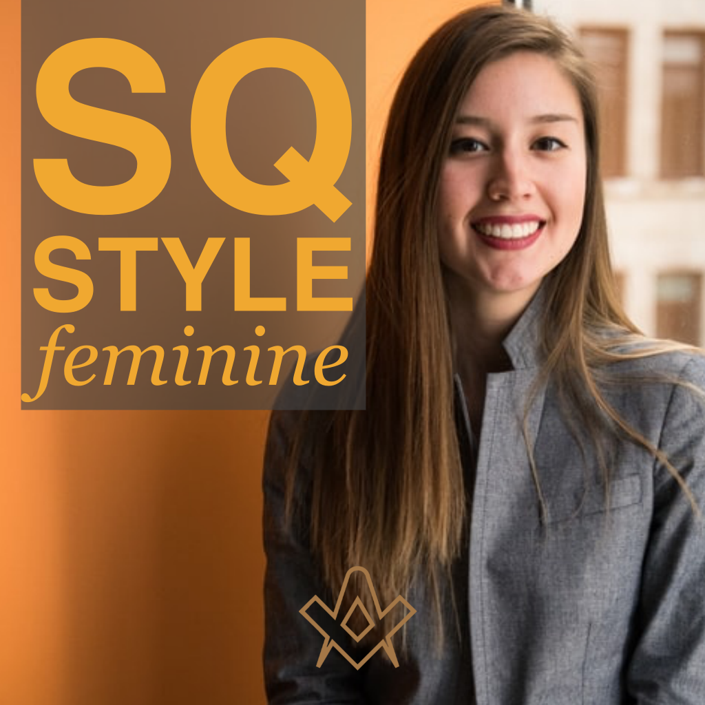 SQ Style – Feminine Stand out from the crowd with SQ's Masonic essentials