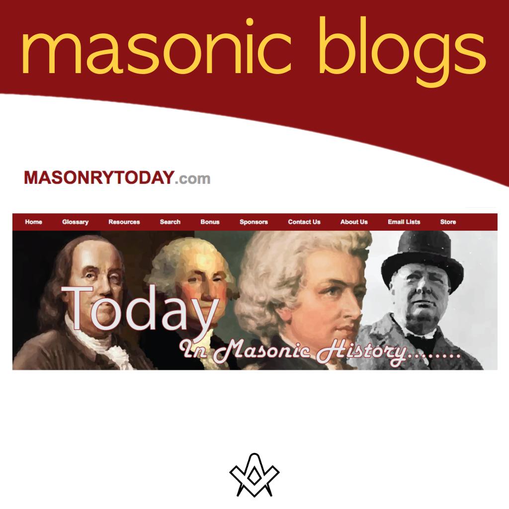 Masonic Blogs Masonry Today