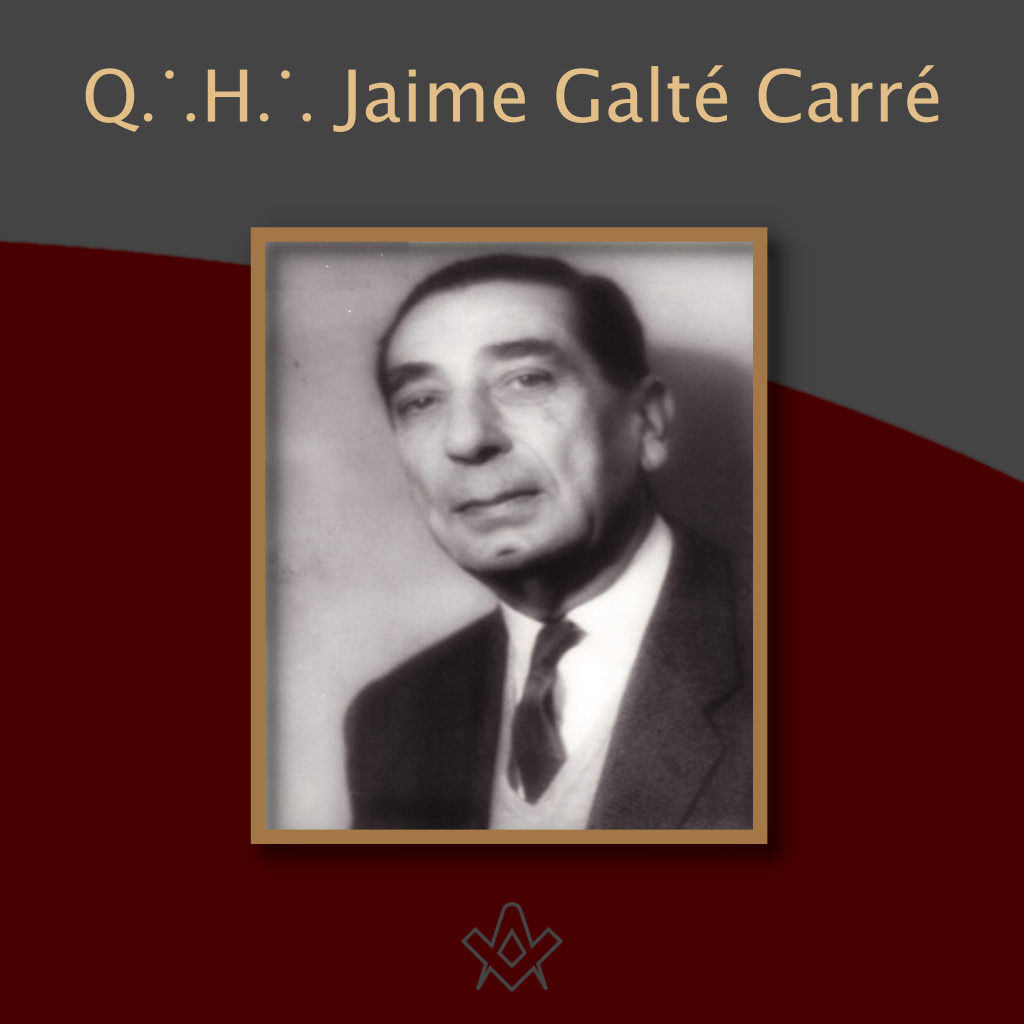 Q∴H∴ Jaime Galté Carré Dear Brother - Q∴H∴ Jaime Galté Carré