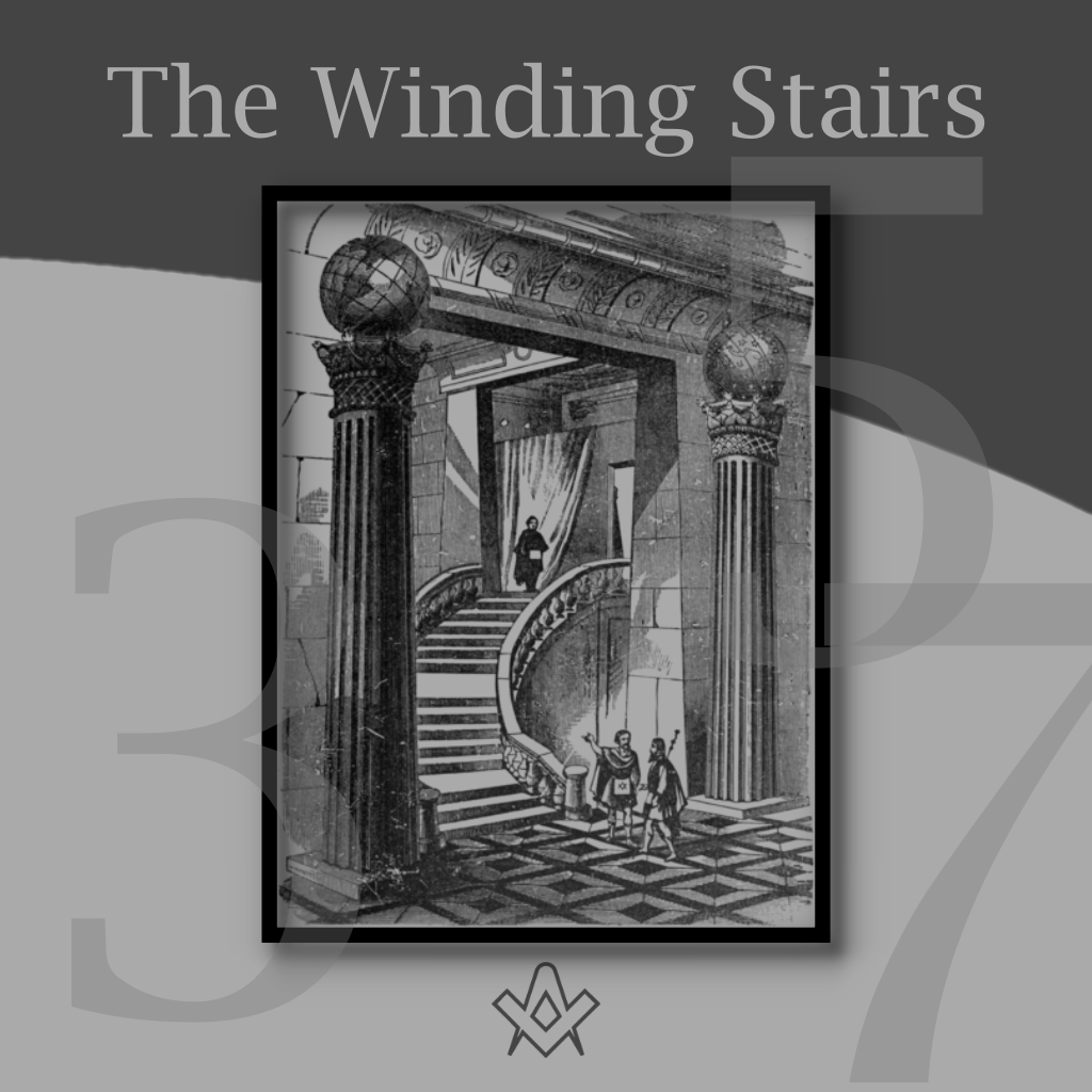 The Winding Stairs Three five seven steps