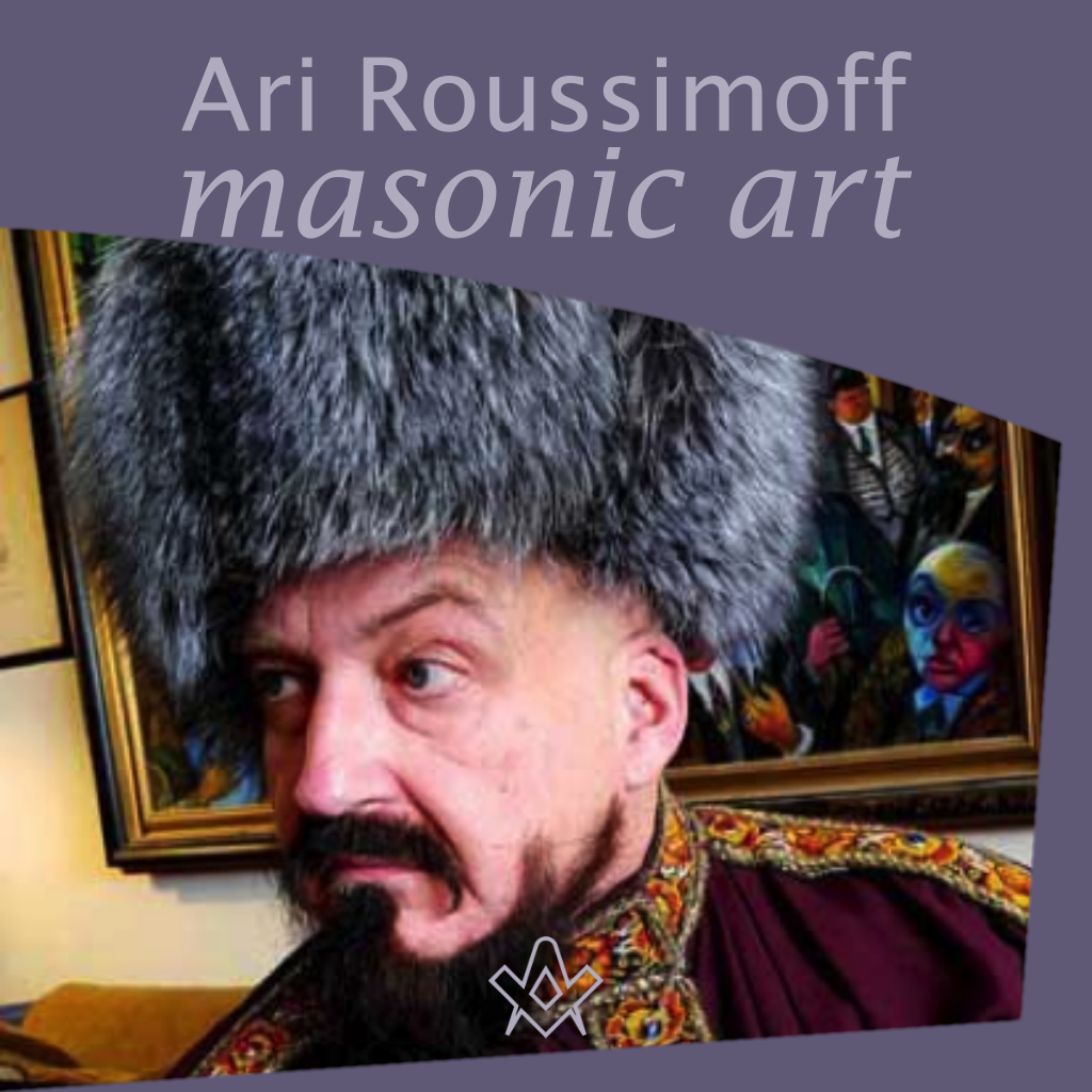 Masonic Art ofAri Roussimoff