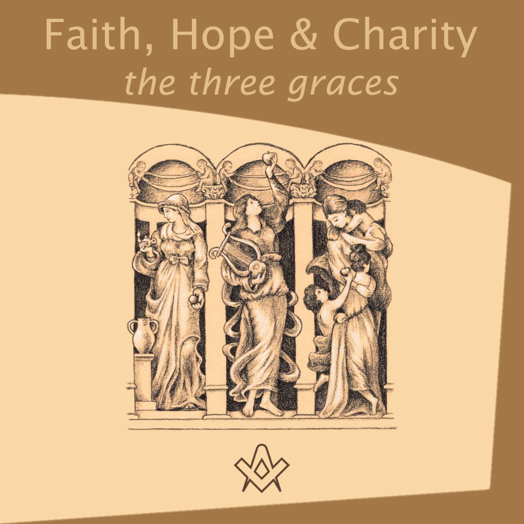 Faith, Hope & Charity – The Three Graces