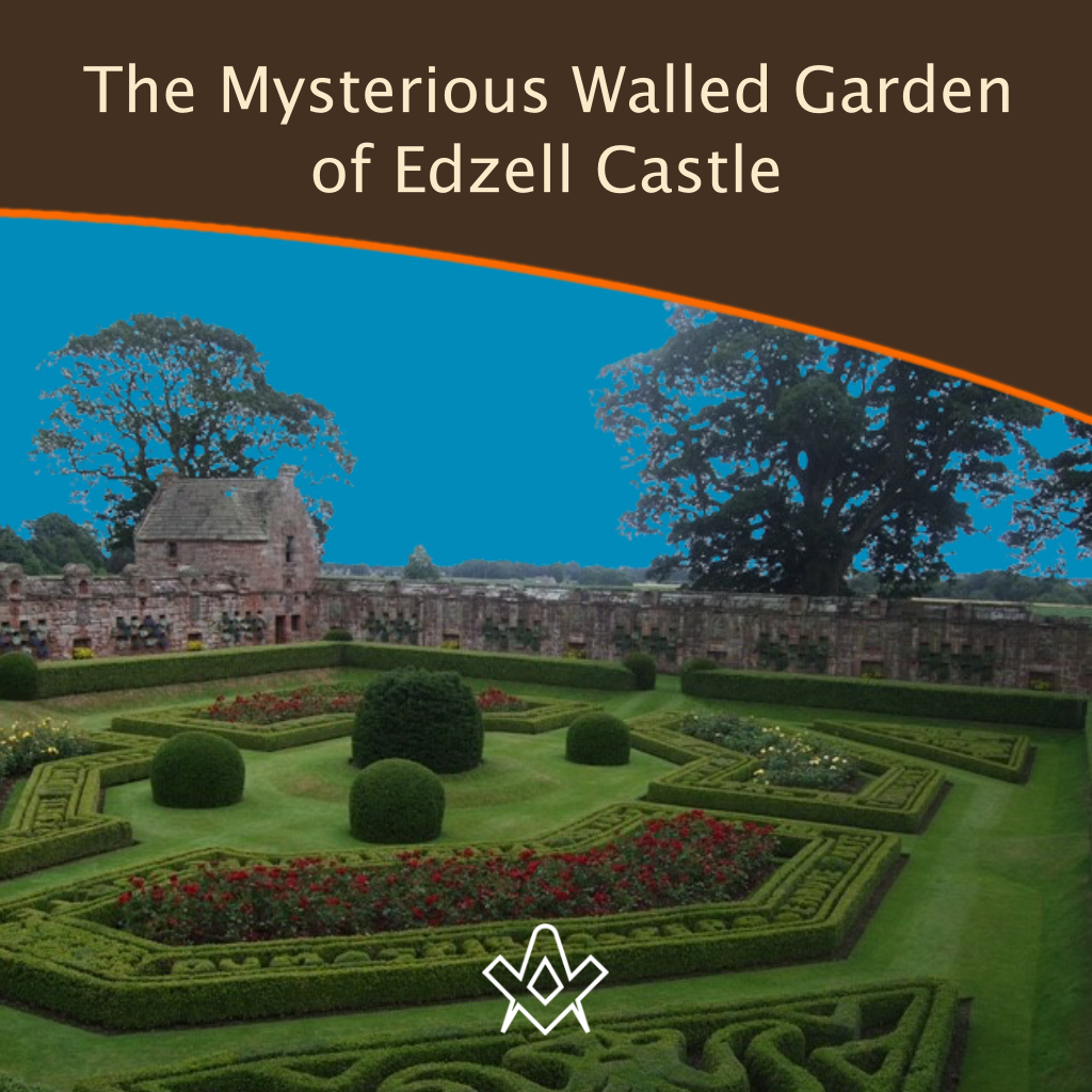 The Mysterious Walled Garden of Edzell Castle