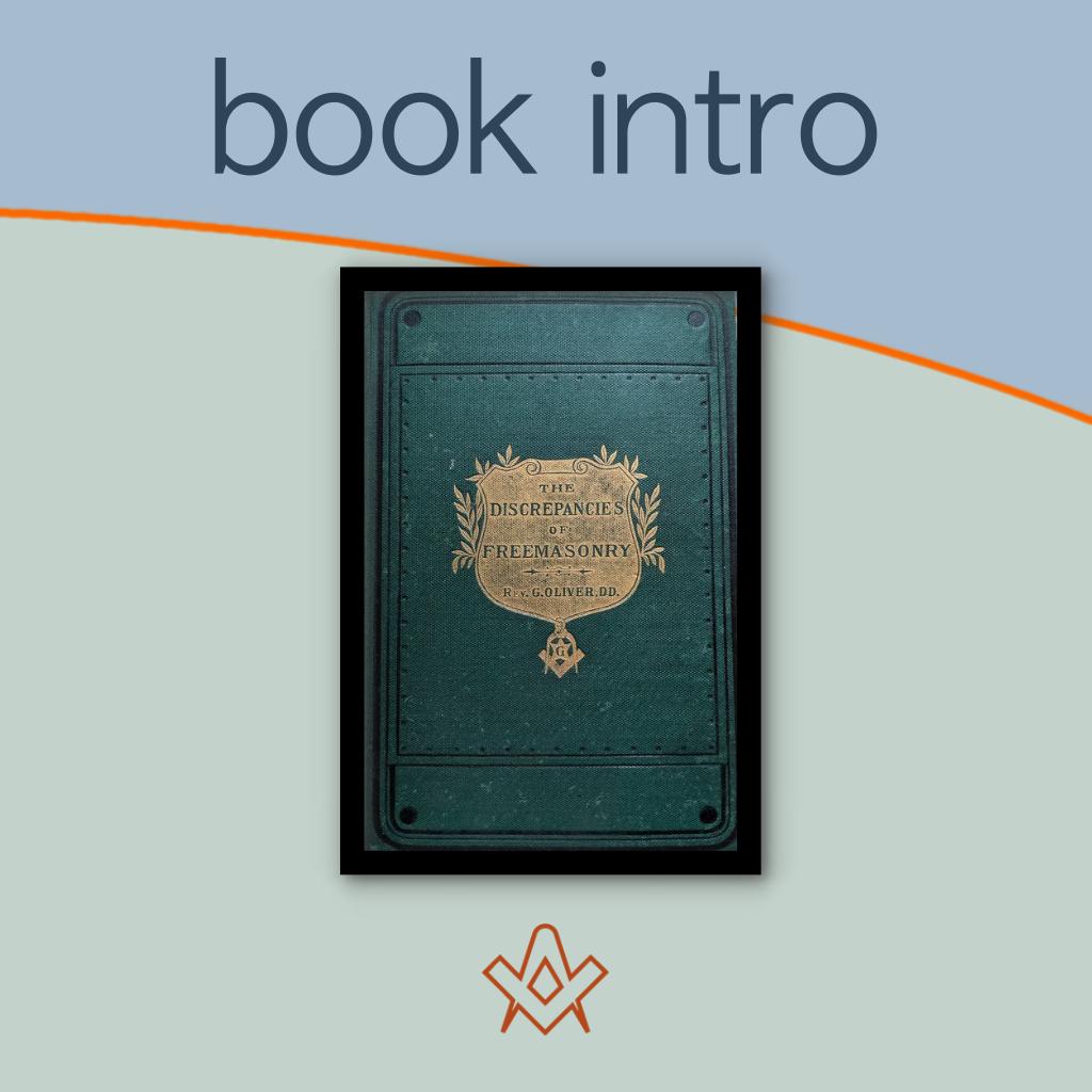 book intro The Discrepancies of Freemasonry