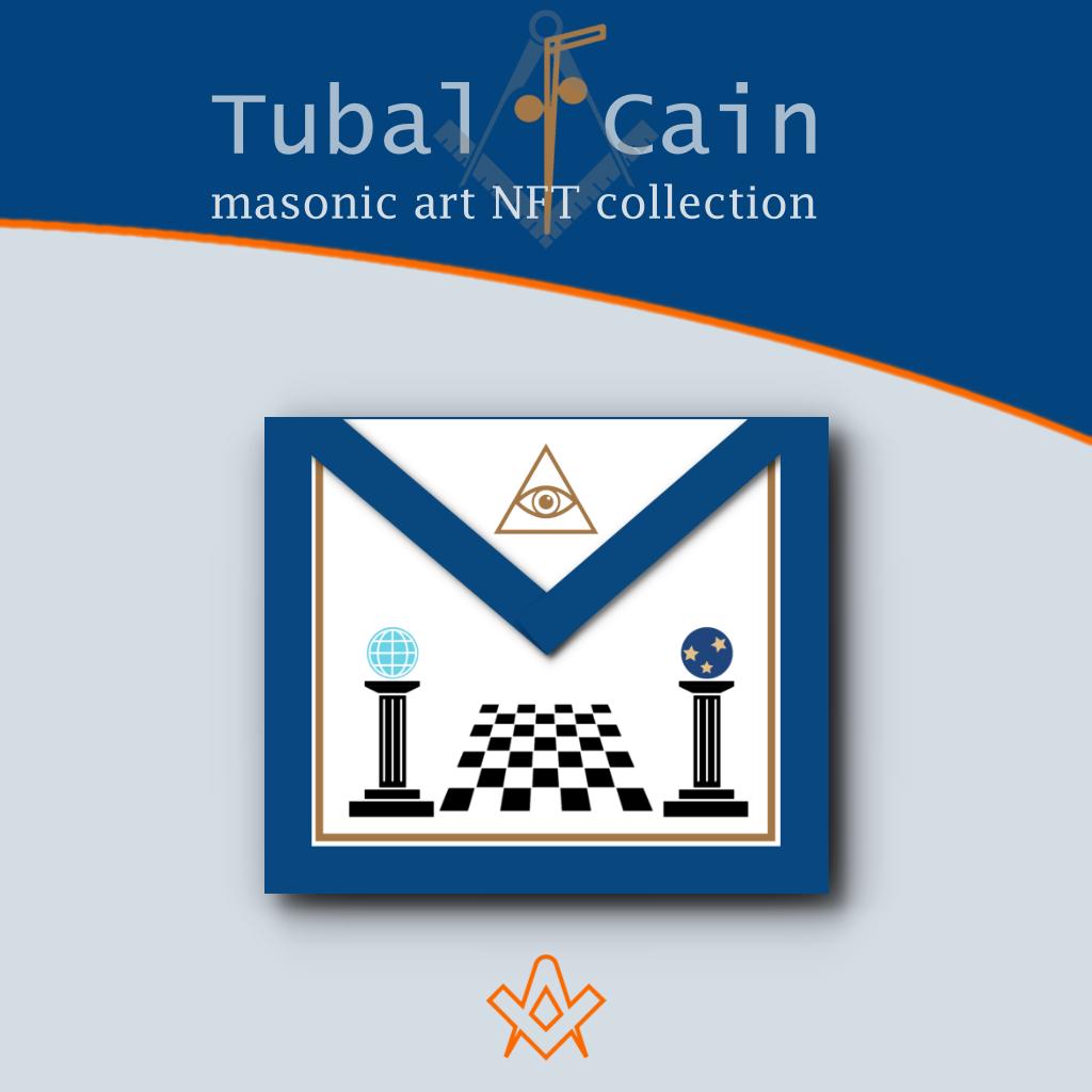 Tubal Cain Masonic Apron NFT