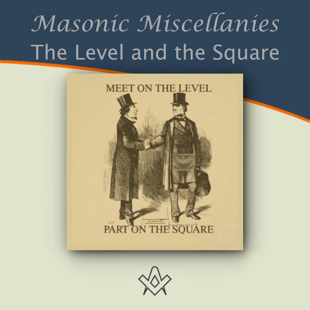 Masonic Miscellanies