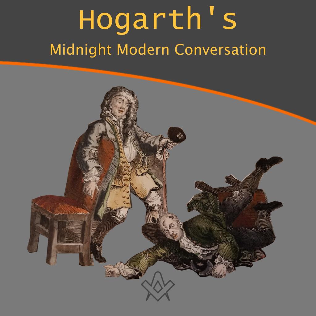 Hogarth's Midnight Modern Conversation