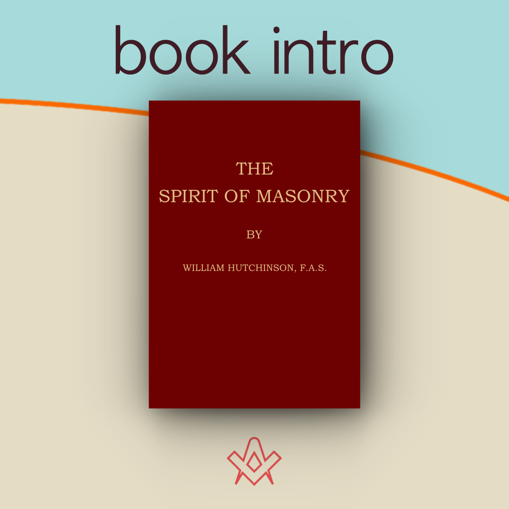 book intro The Spirit of Masonry